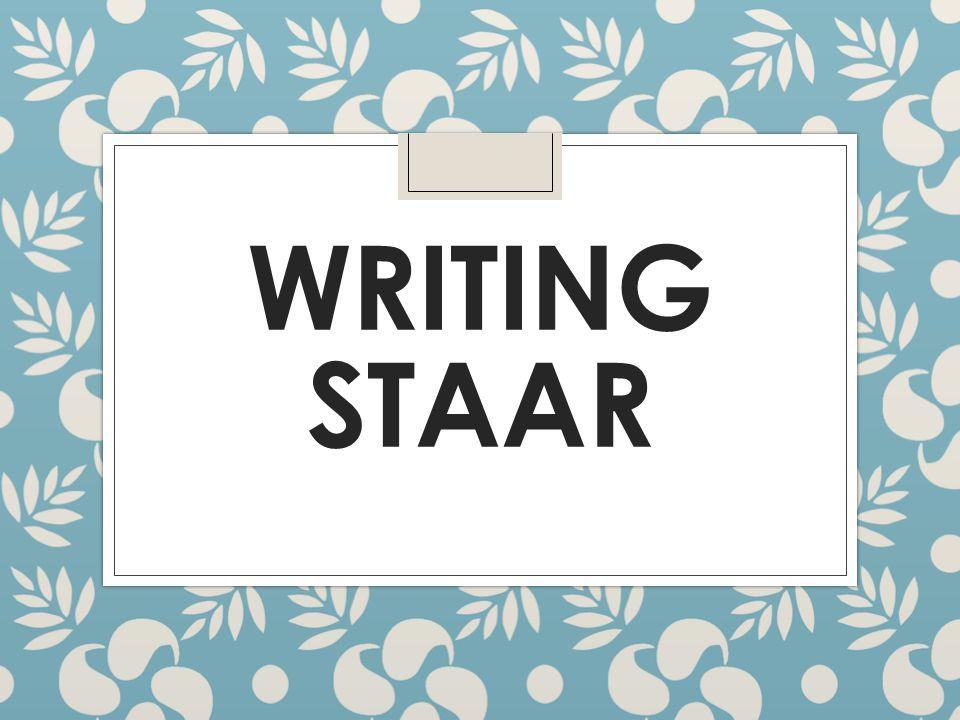 WRITING STAAR
