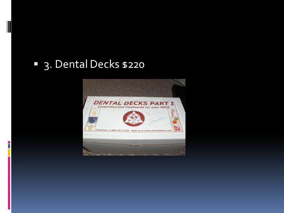  3. Dental Decks $220