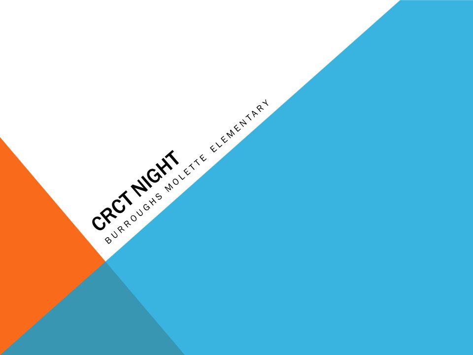 CRCT NIGHT BURROUGHS MOLETTE ELEMENTARY