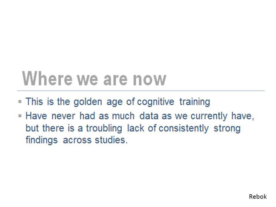 Grappling with transfer Robin West said: Older adults really want to affect everyday memory skills .