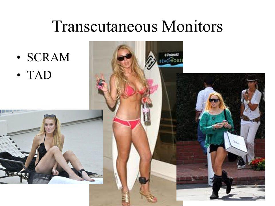 Transcutaneous Monitors SCRAM TAD