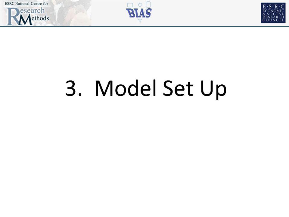 3. Model Set Up