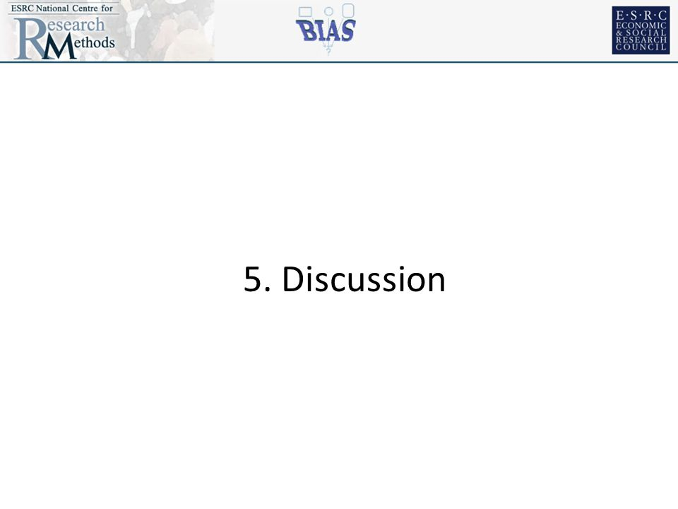 5. Discussion
