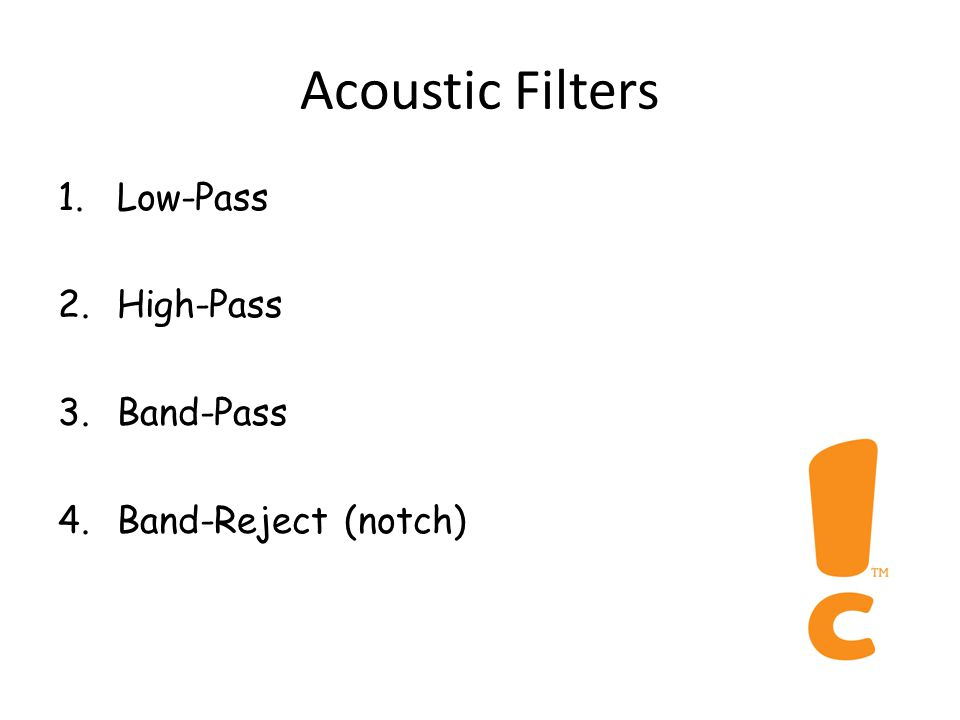 5. Attenuation Rate Filter A: 10 dB/octave Filter B: 15 dB/octave Attenuation rate quantifies the 'selectivity of a filter'
