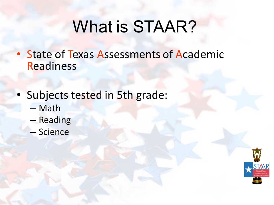 What is STAAR.