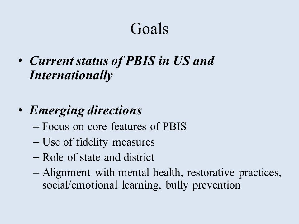 Tier III PBIS Core Features Individualized Support Delivery Individualized Assessment Individual Support Planning Individual Student Team Increased Intensity of Data Collection Increased Family Engagement Tier III PBIS