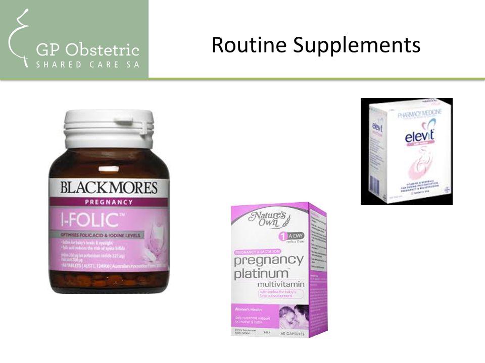 Routine Supplements