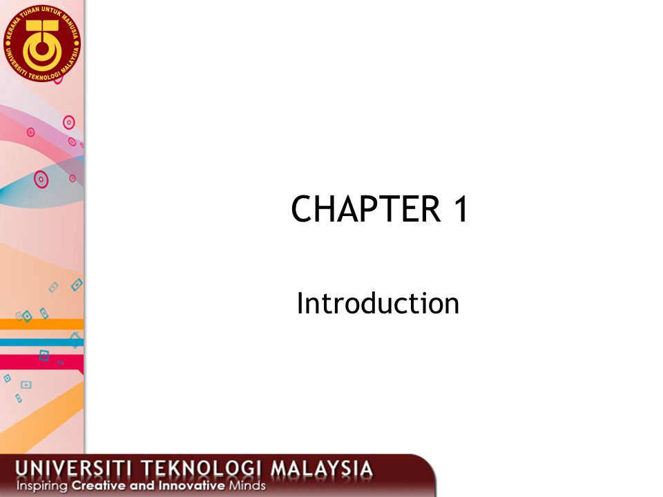 CHAPTER 1 Introduction 13
