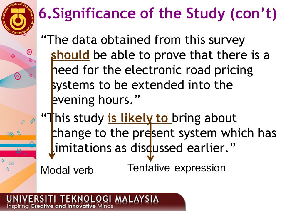 """""""The data obtained from this survey should be able to prove that there is a need for the electronic road pricing systems to be extended into the eveni"""