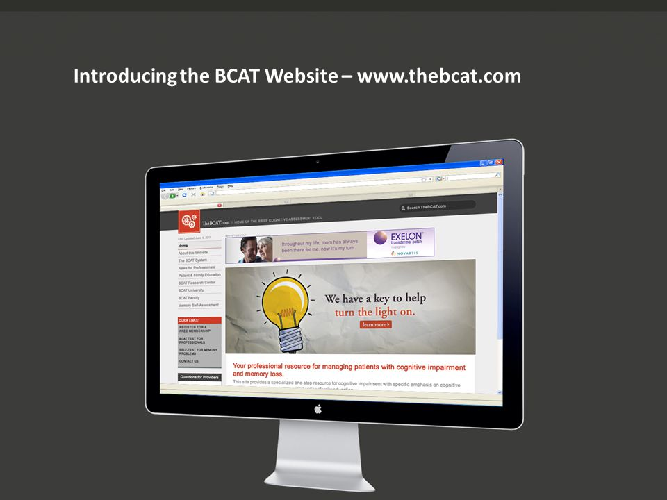 Introducing the BCAT Website – www.thebcat.com