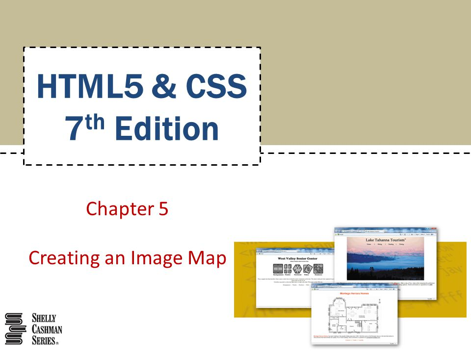 Chapter 5: Creating an Image Map32 Viewing the Web Page