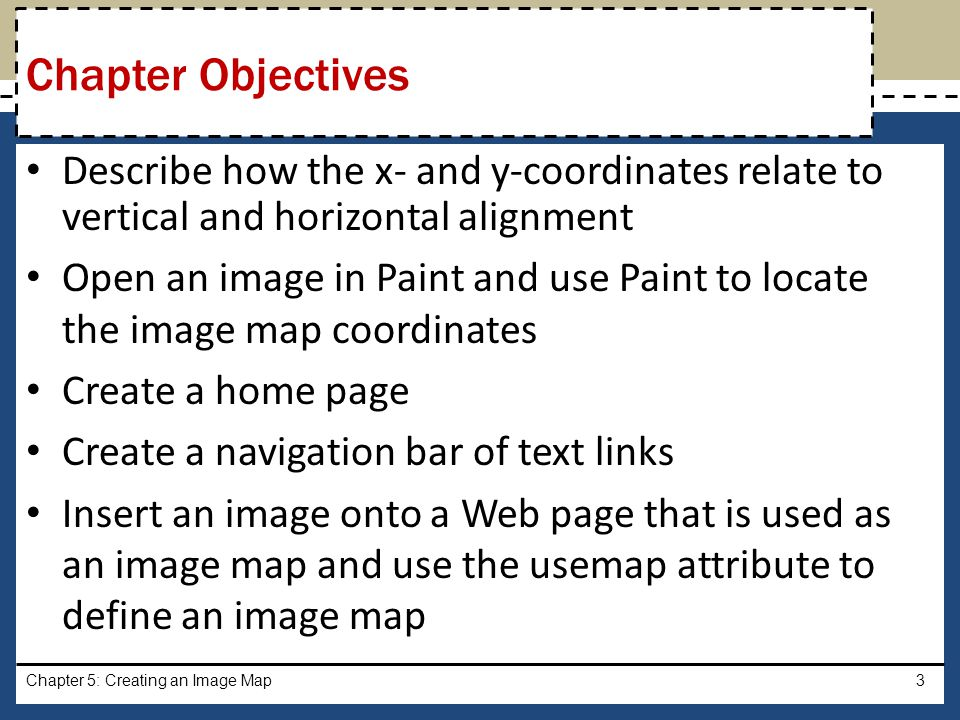 Chapter 5: Creating an Image Map24 Viewing a Web Page