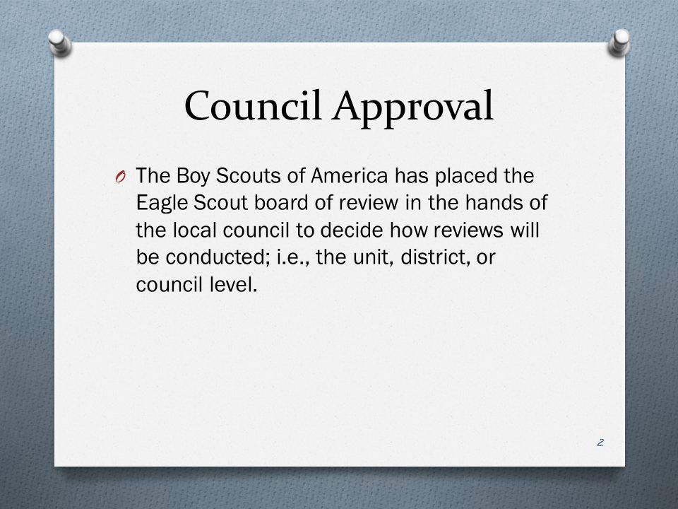 National BSA Definition of Active O Alternative to the third test if expectations are not met: O If a young man has fallen below his unit's activity- oriented expectations, then it must be due to other positive endeavors—in or out of Scouting—or to noteworthy circumstances that have prevented a higher level of participation.