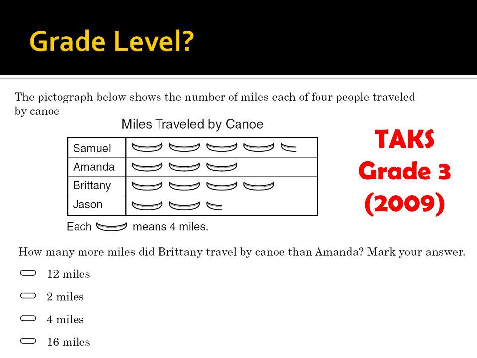 TAKS Grade 3 (2009)
