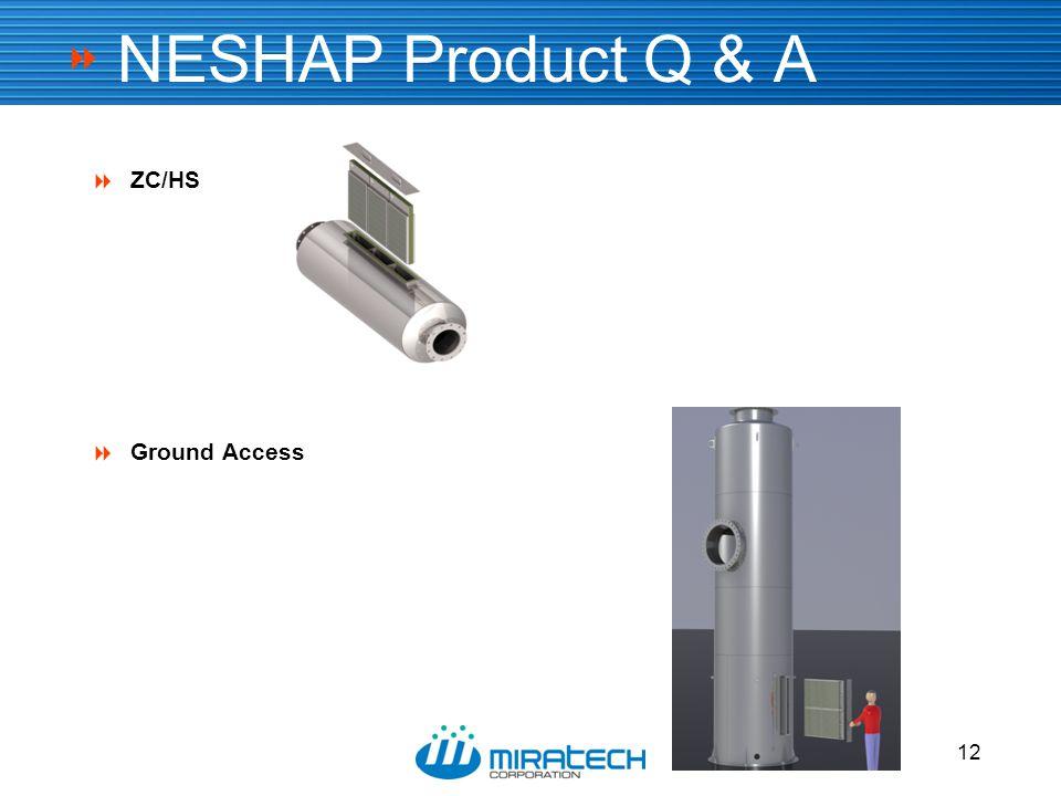  12 NESHAP Product Q & A  ZC/HS  Ground Access 12