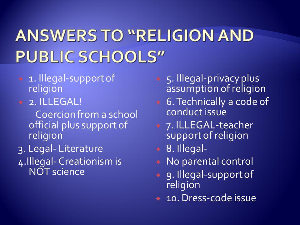  (Handout - Understanding Religious Freedom in Schools )