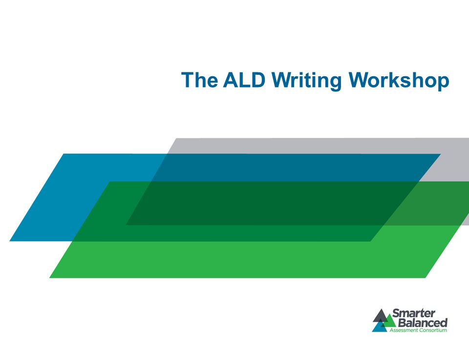 The ALD Writing Workshop