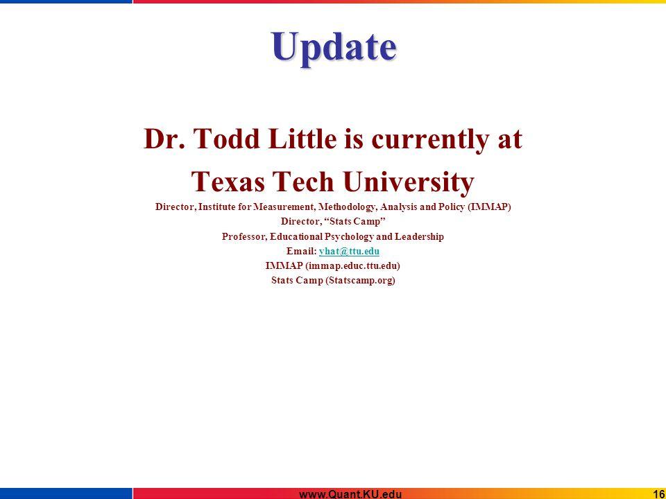Update Dr.