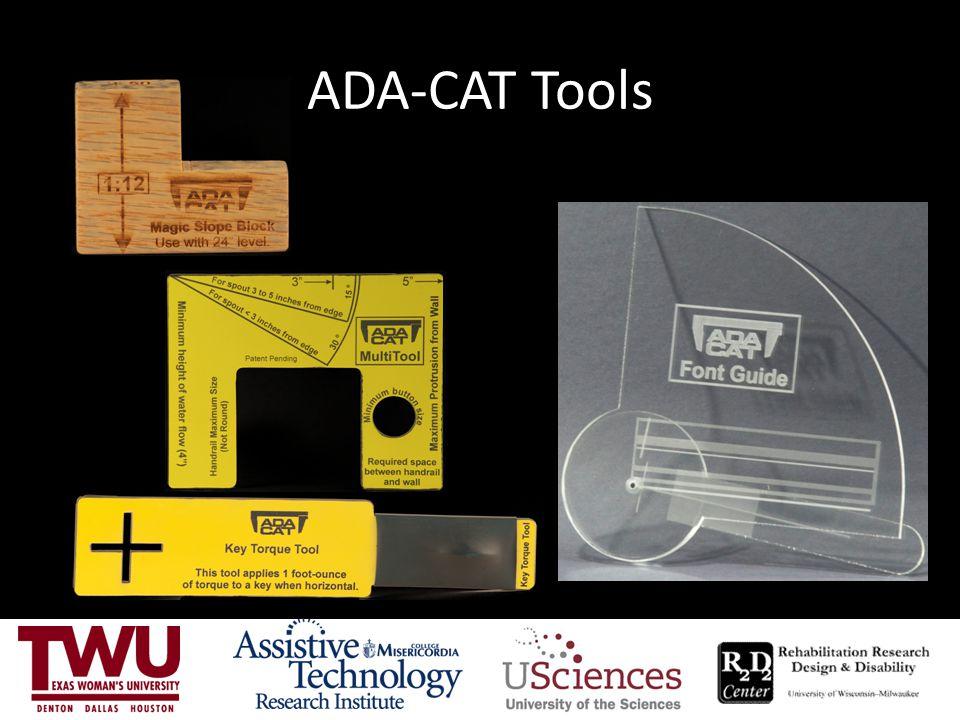 ADA-CAT Tools
