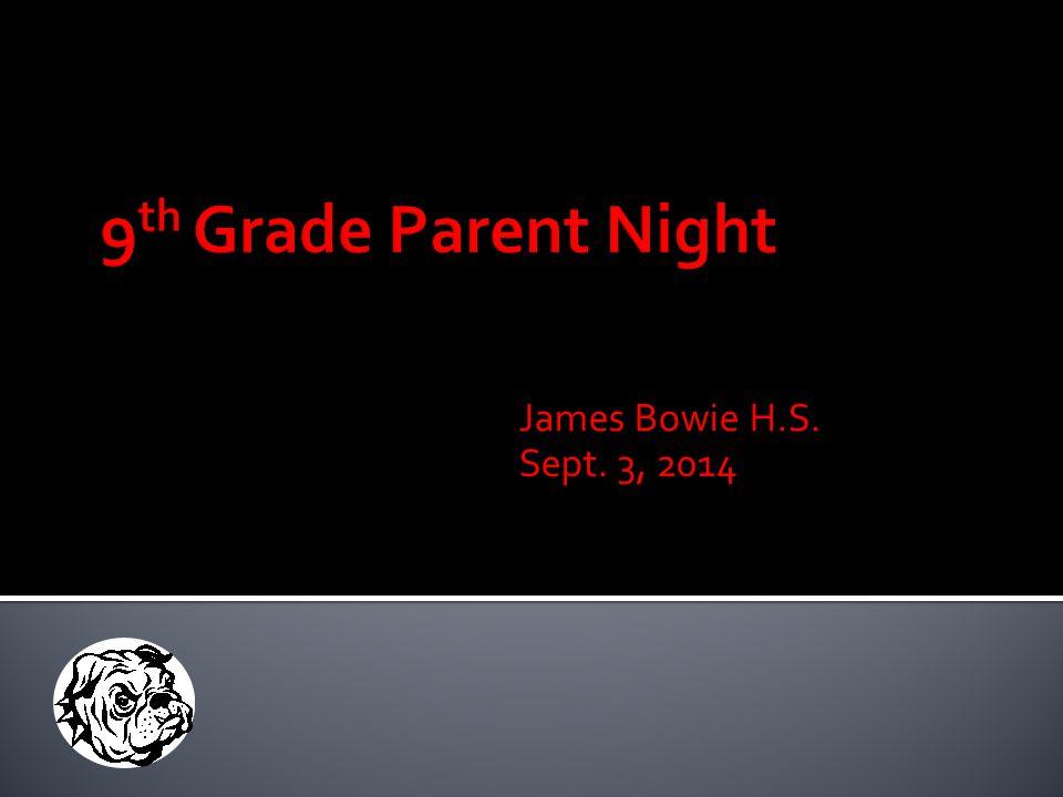 James Bowie H.S. Sept. 3, 2014