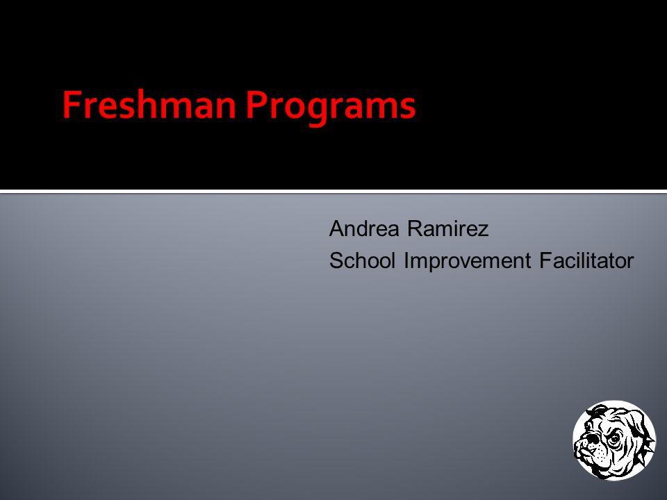 Andrea Ramirez School Improvement Facilitator