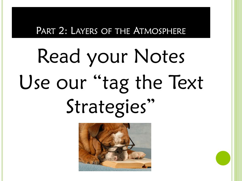 L AYERS OF THE ATMOSPHERE Atmosphere is divided into layers according to changes in temperature.