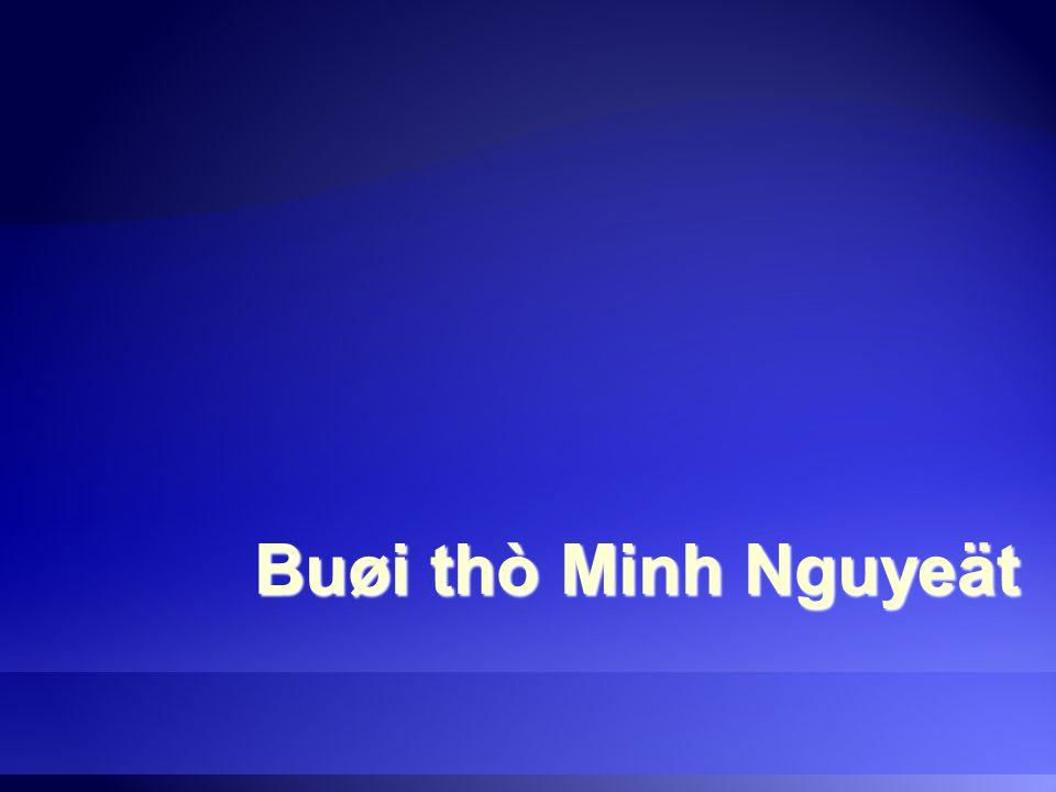 Buøi thò Minh Nguyeät