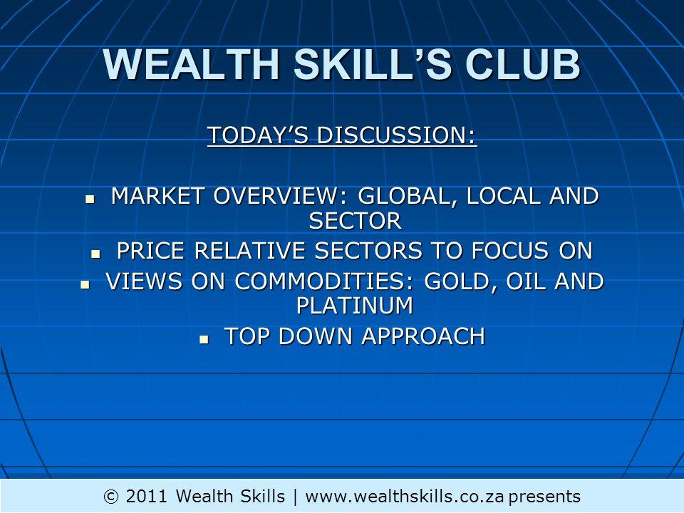 GND © 2011 Wealth Skills | www.wealthskills.co.za presents
