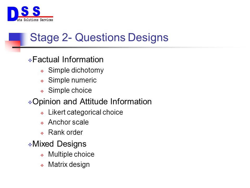 9 Examples of Closed Questions Design Dichotomous Questions??.