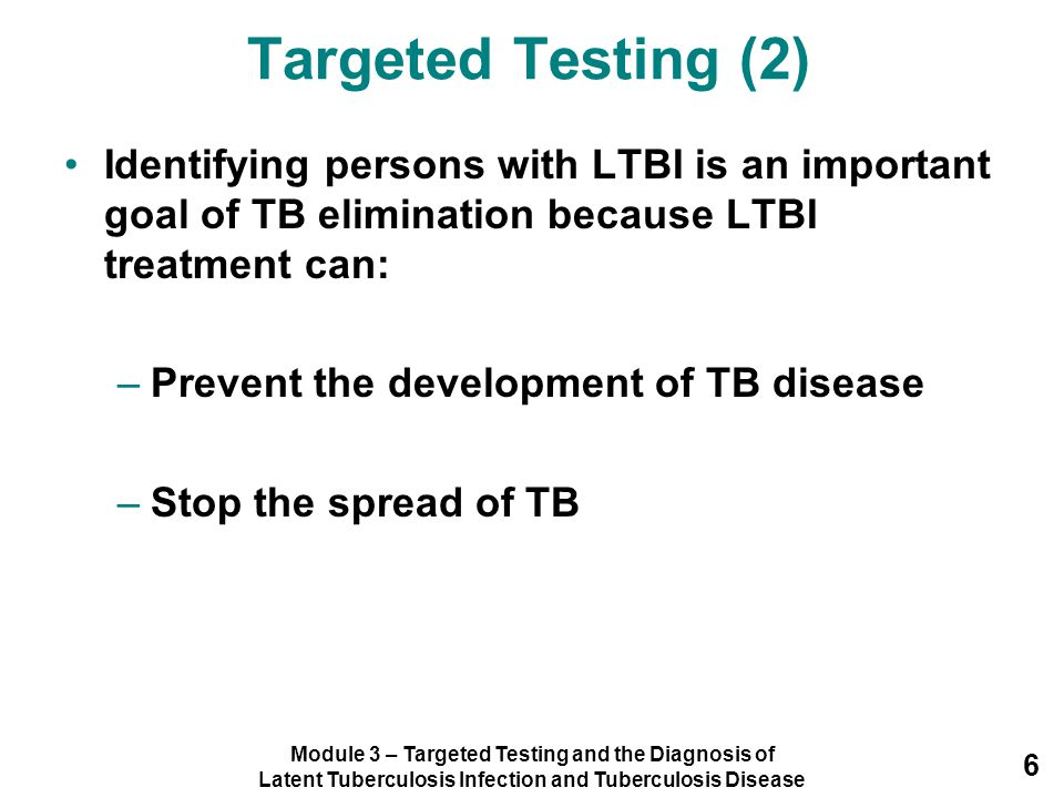 Module 3 – Targeted Testing and the Diagnosis of Latent Tuberculosis Infection and Tuberculosis Disease 127 Module 3: Case Study 3.4 (1) Ms.