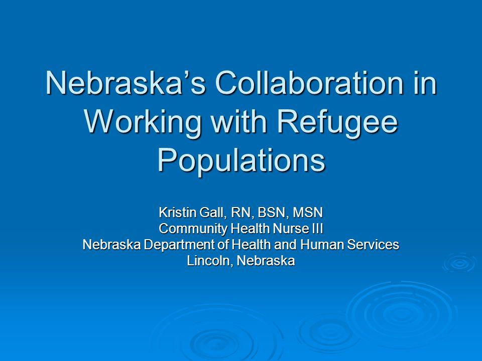 Nebraska's TB Program  Rural State  Limited Staff  Local Health Departments Omaha Omaha Lincoln Lincoln Rural Rural
