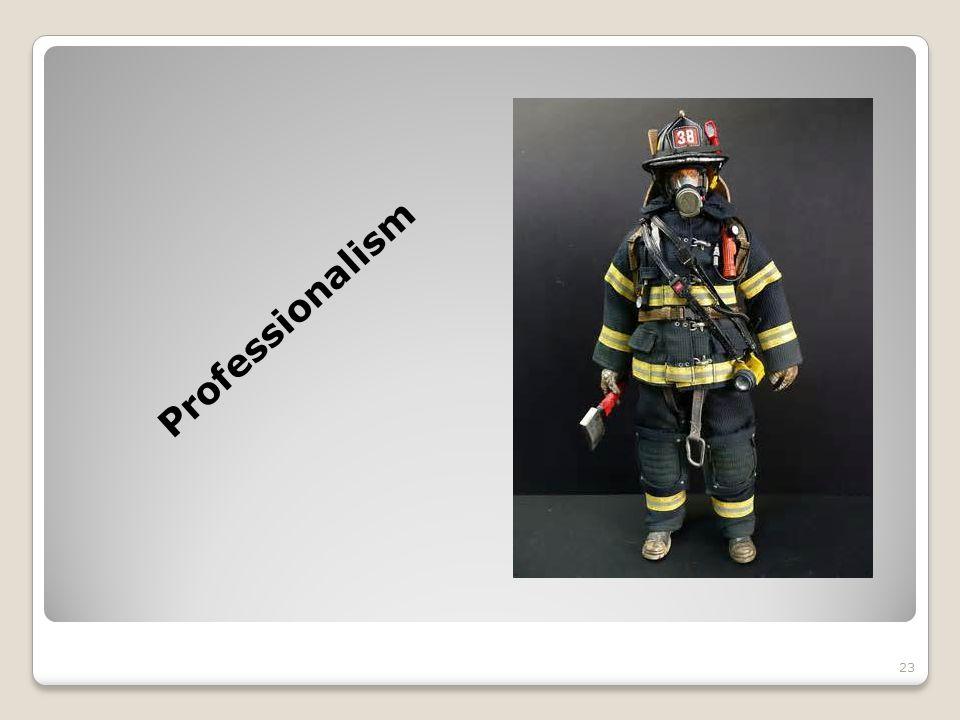 Professionalism 23