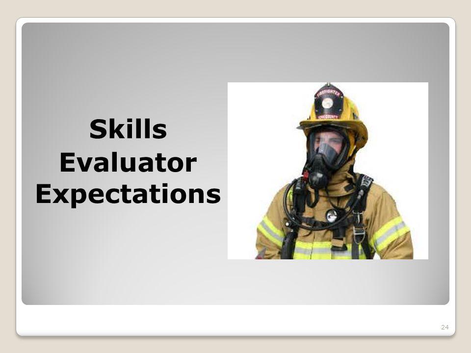 Skills Evaluator Expectations 24