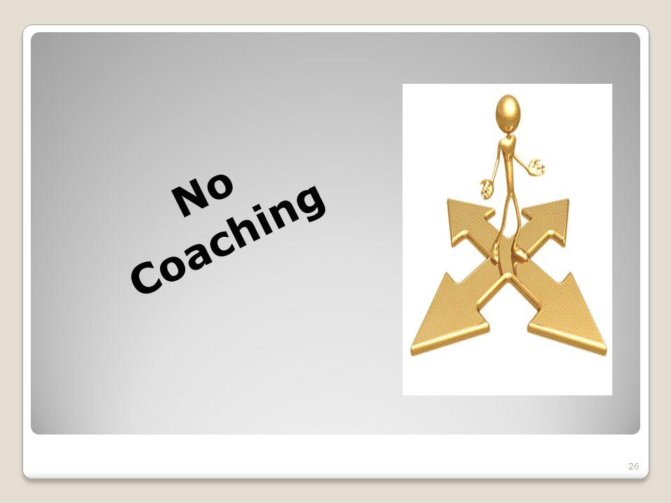 No Coaching 26
