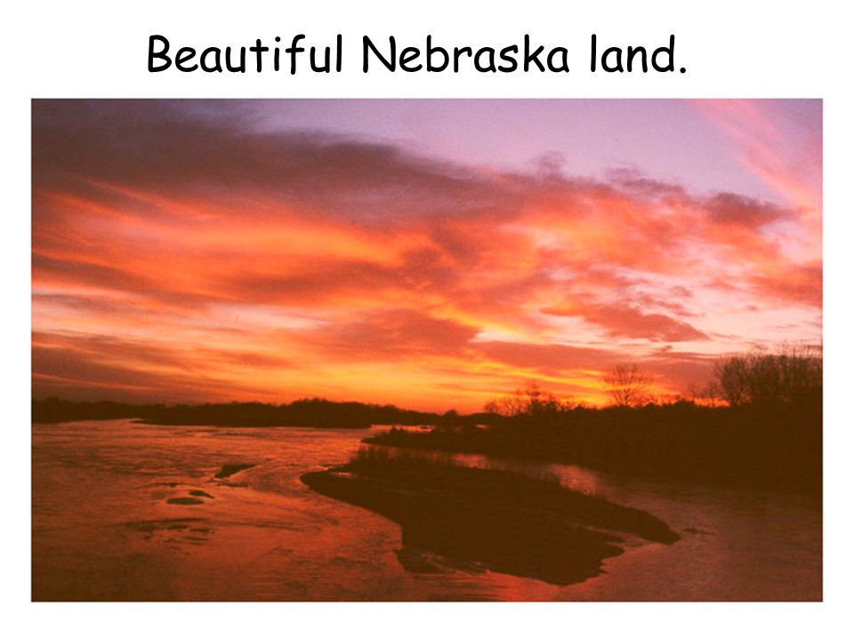 Beautiful Nebraska land.