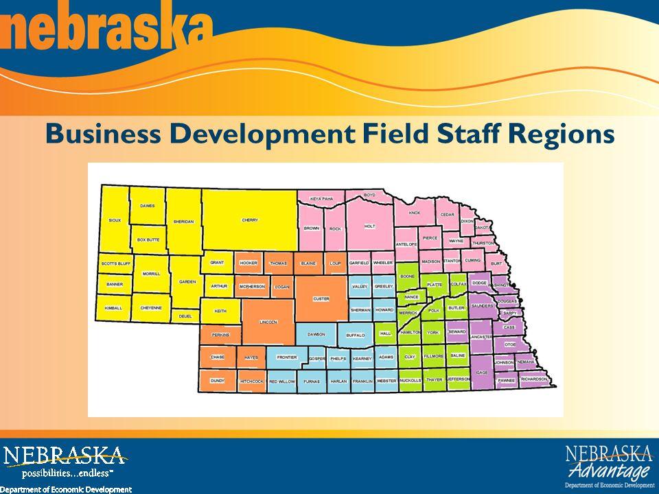 Business Development Field Staff Regions
