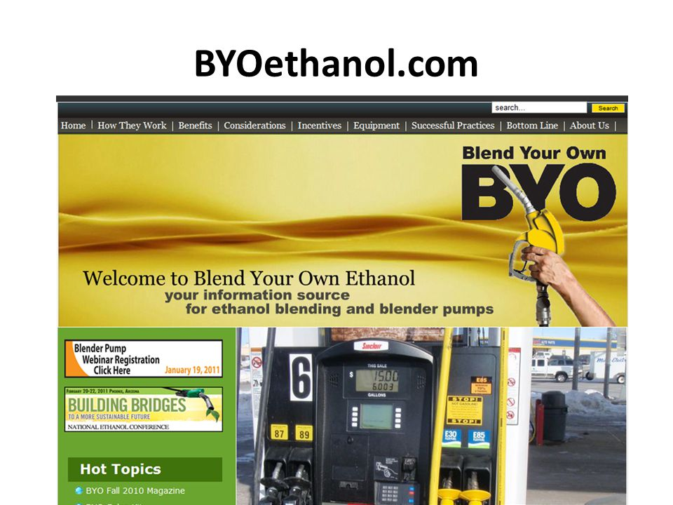 BYOethanol.com