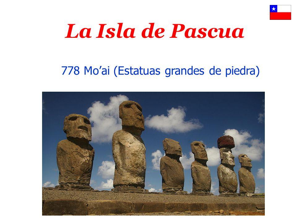 La Isla de Pascua 778 Mo'ai (Estatuas grandes de piedra)