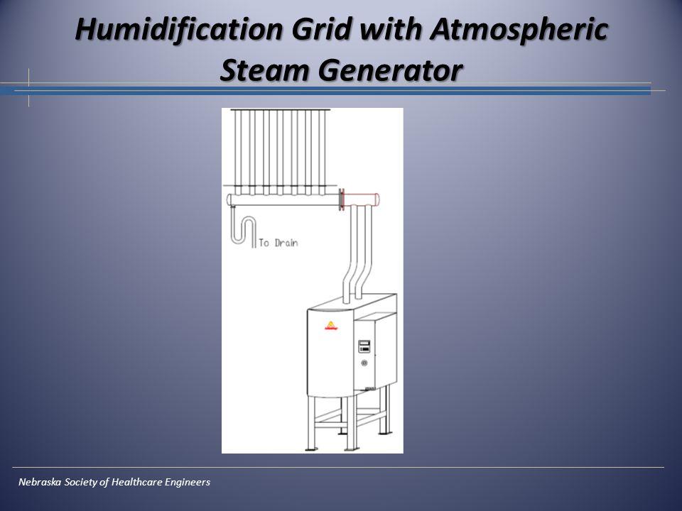 Nebraska Society of Healthcare Engineers Humidification Grid with Atmospheric Steam Generator
