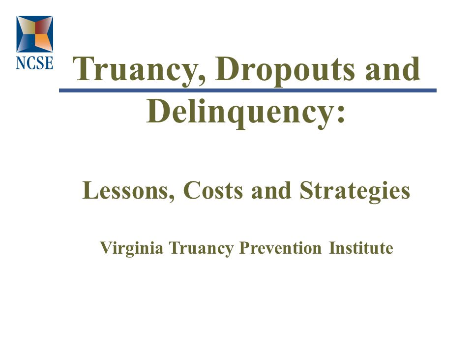 What are the costs of truancy.
