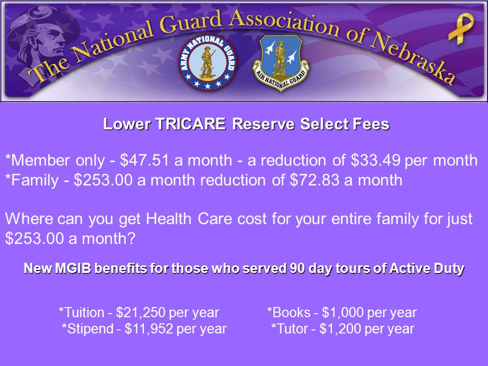 *Member only - $47.51 a month - a reduction of $33.49 per month *Family - $253.00 a month reduction of $72.83 a month Where can you get Health Care cost for your entire family for just $253.00 a month.