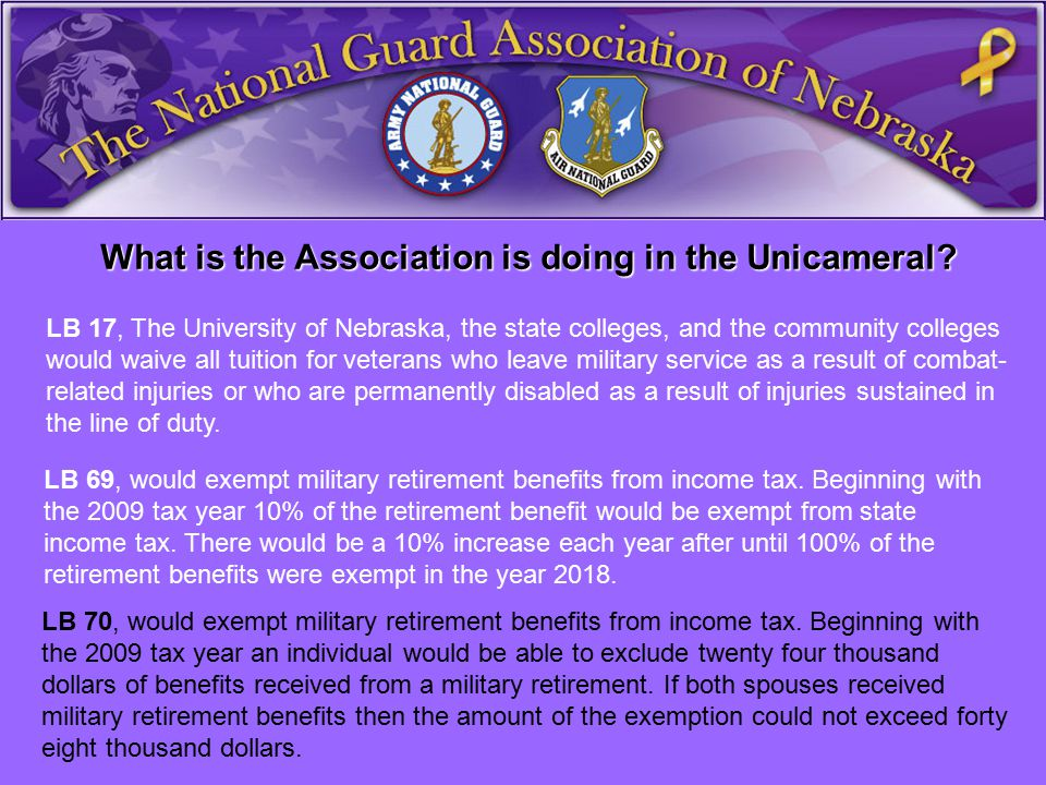 What is the Association is doing in the Unicameral.