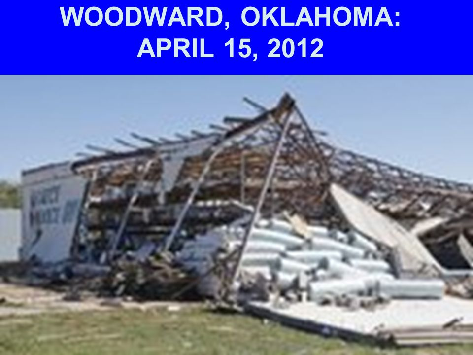 WOODWARD, OKLAHOMA: APRIL 15, 2012