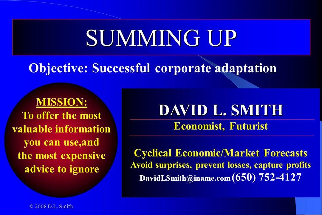 © 2008 D.L. Smith DAVID L. SMITH DAVID L.