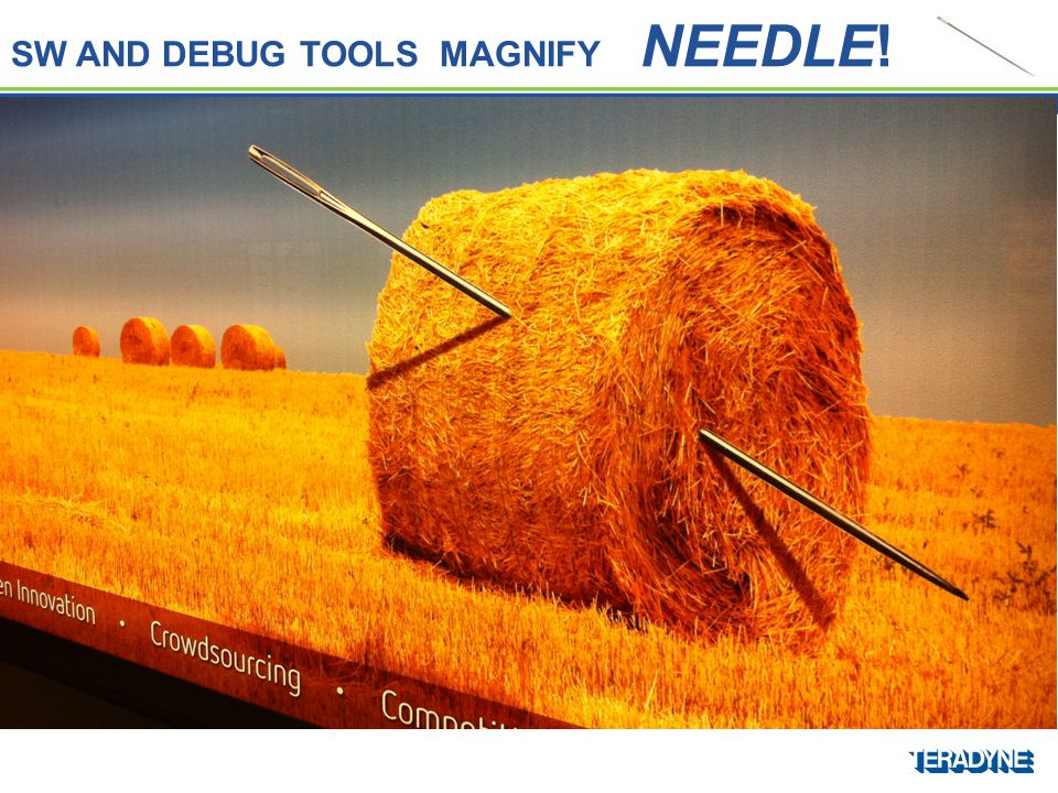 SW AND DEBUG TOOLS MAGNIFY NEEDLE!