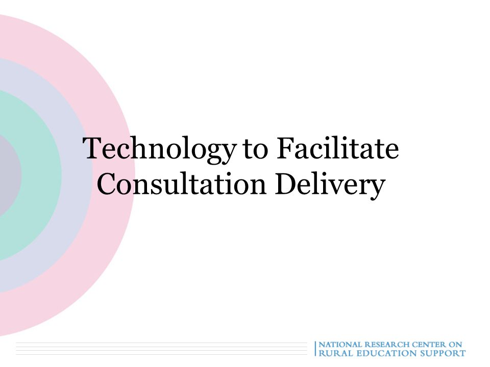 Technology to Facilitate Consultation Delivery