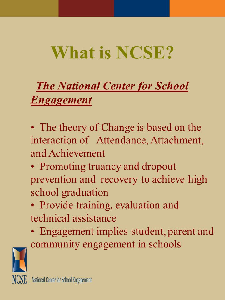 What is NCSE.