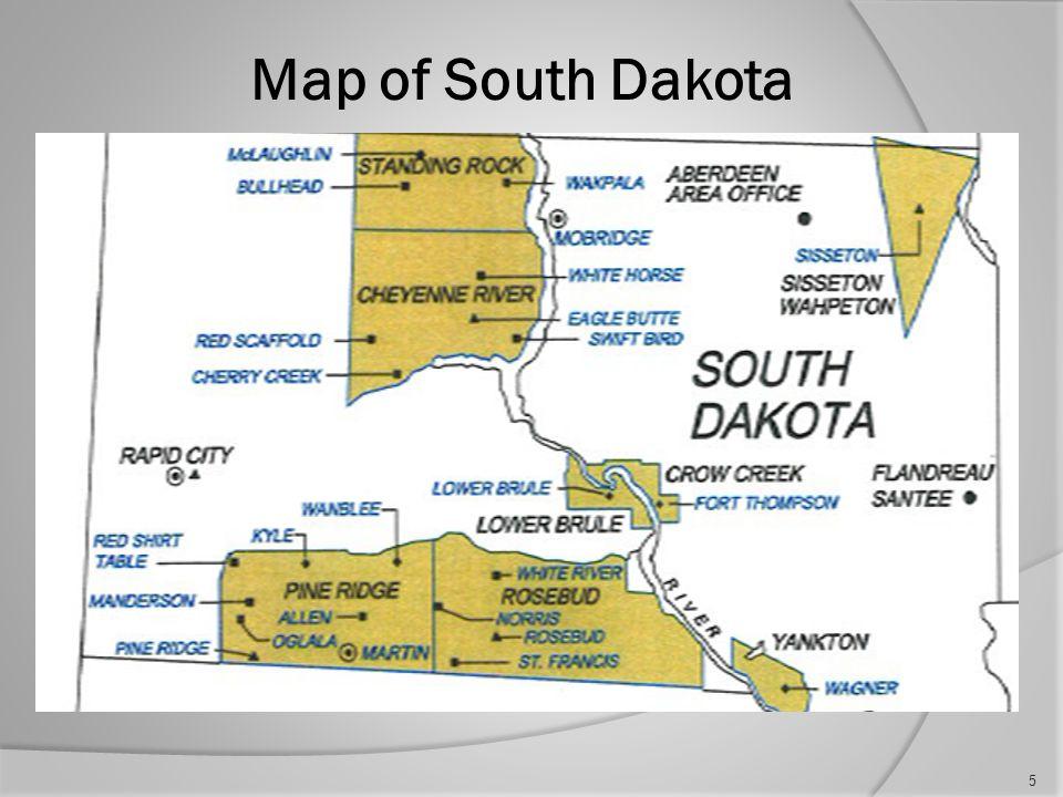Map of North Dakota 4