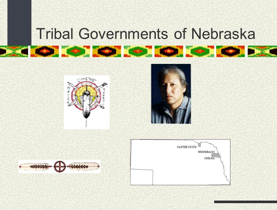 Tribal Governments of Nebraska