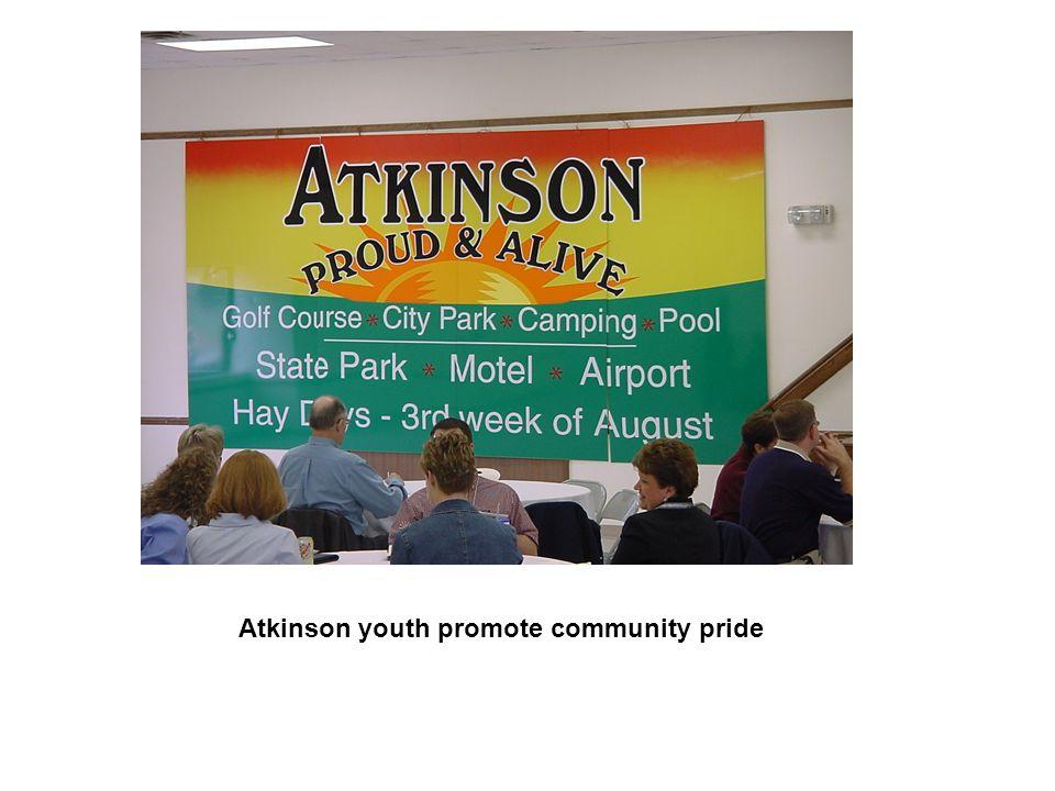 Atkinson youth promote community pride